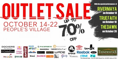 Tiendesitas Outlet Sale