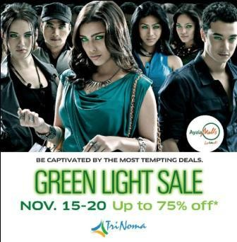 Trinoma Green Light Sale Nov2011