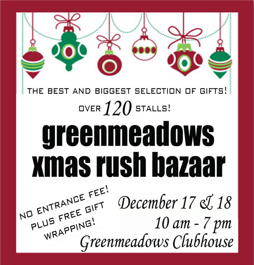 Greenmeadows Bazaar