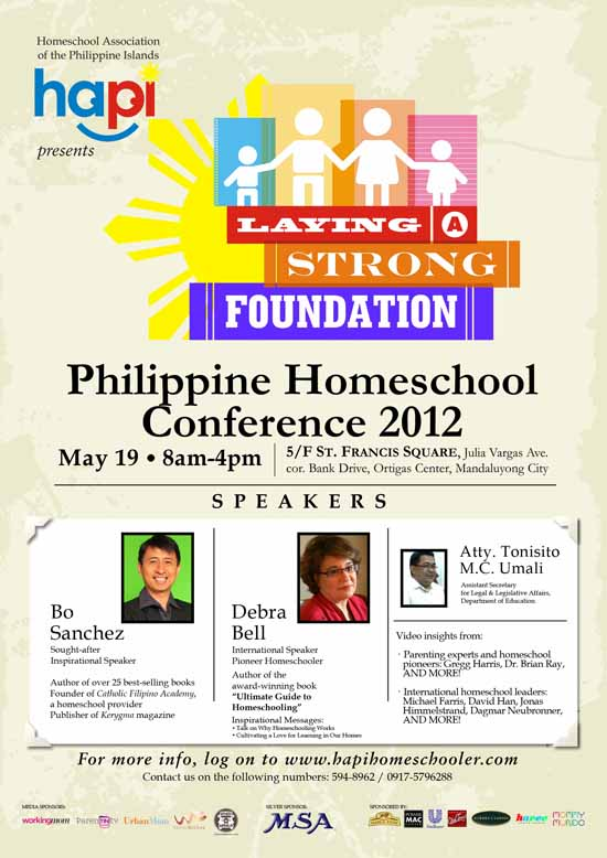 Homeschooling Conference to take place on May 19