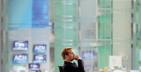 Brand new HBO Original series,  The Newsroom  debuts wednesday, August 1 at 9:00 PM on HBO